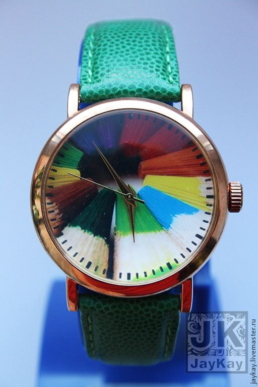 """Colorful watch / Купить Часы наручные JK """"Карандаши"""" - часы наручные, часы наручные купить"""