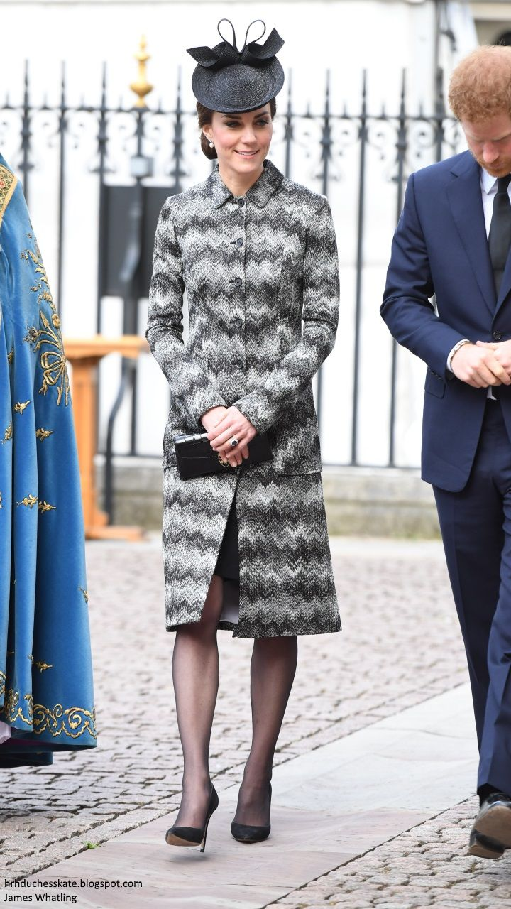The Duke and Duchess of Cambridge and Prince Harry attended a Service of Hope at Westminster Abbey following the terror attacks which took p...
