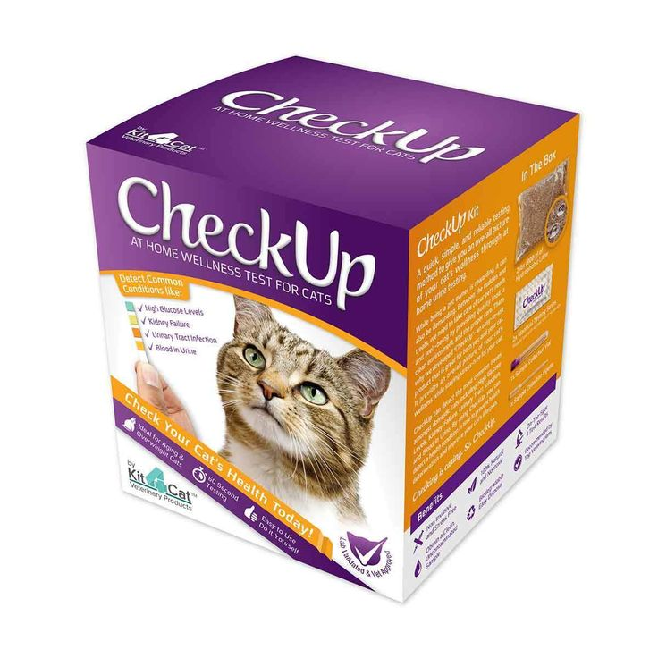 Coastline Global K4C-OTC Checkup - At Home Wellness Test for Cats