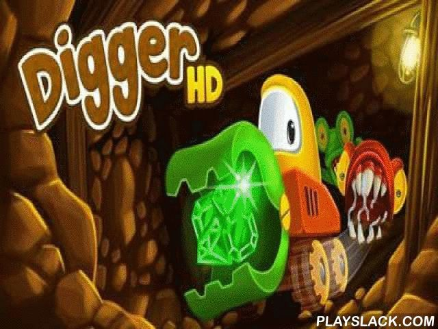 Digger HD  Android Game - playslack.com , Digger HD - a classical passageway of the 80es travelled  in a brand-new execution. For many groups this game became the first video game at that time. Now the subsurface hunter for wealths came back in brand-new enhanced  graphics and   gameplay. endless wealths are kept  in the thrown excavations deeply subsurface. Even the most gallant workmen are acrophobic to go down there, since gold and jewelries are safeguarded  by evil monsters. But in your…