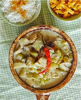 Rice and Coconut: Javanese vegetables soup in coconut milk/sayur lodeh