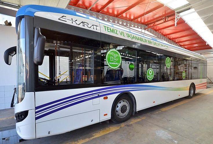 İzmir'de elektrikli otobüs dönemi başlıyor
