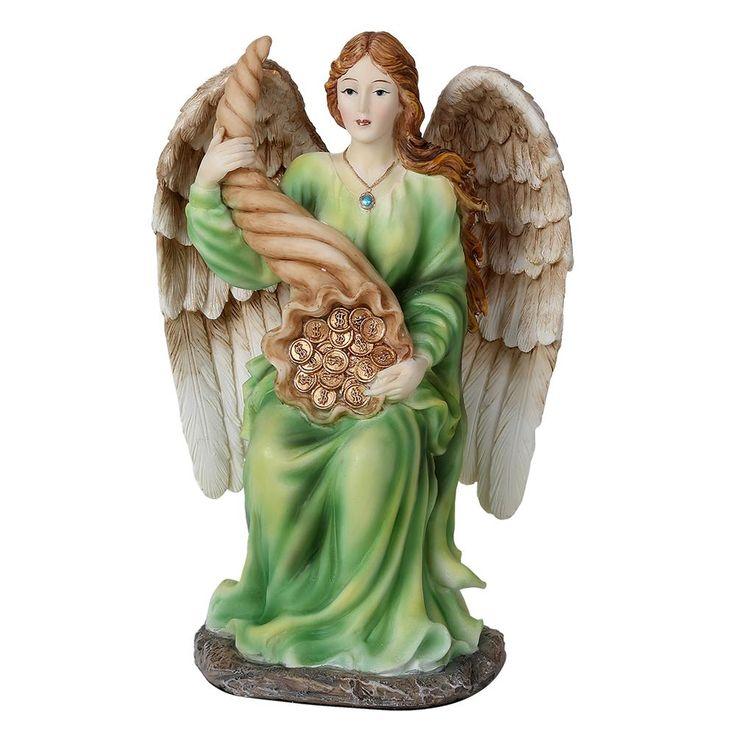 Angel of Abundance Prosperity Statue Angel de la Abundancia