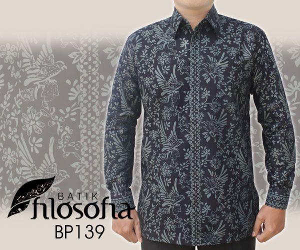Kemeja Batik Pria BP139   Out of stock  – Kode BP138 – Batik katun cap – Furing katun – Jahitan standar butik  #kemejabatikpria #batik #kemejabatik