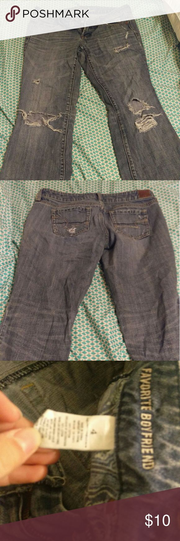 American eagle Small tear pictures. Otherwise good condition American Eagle Outfitters Jeans Boyfriend