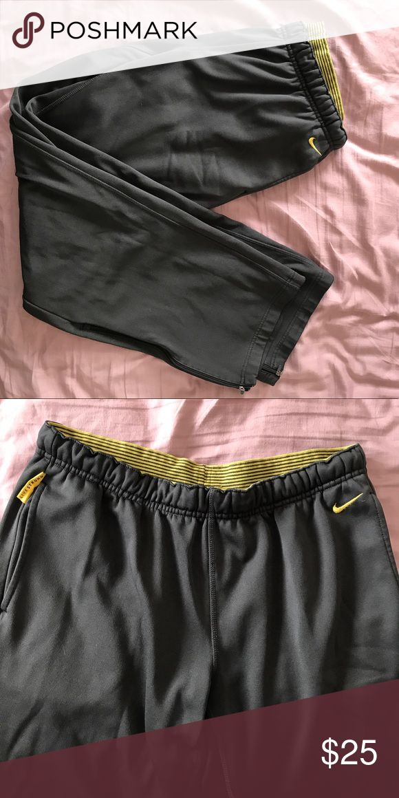 Nike Livestrong sweatpants Great condition Nike Livestrong sweatpants! Warm and comfortable. Nike Pants Track Pants & Joggers