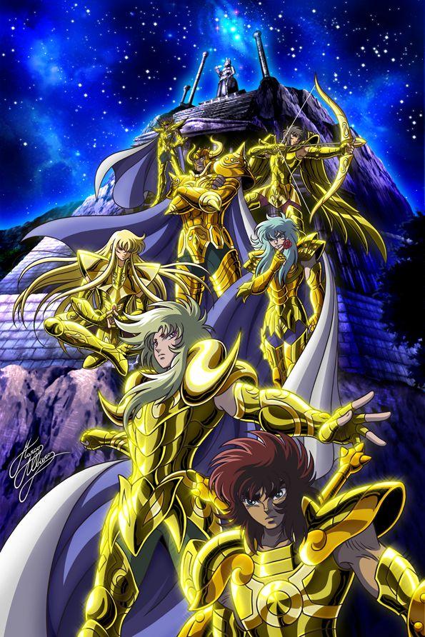 Saint Seiya - Gold Saints - Lost Canvas
