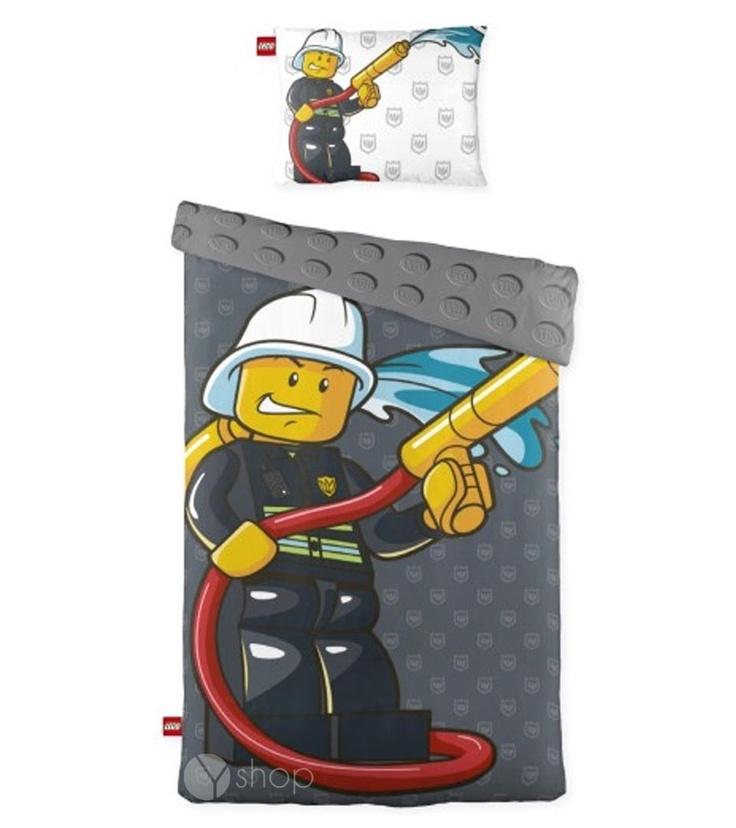 Lego dekbedovertrek Fireman