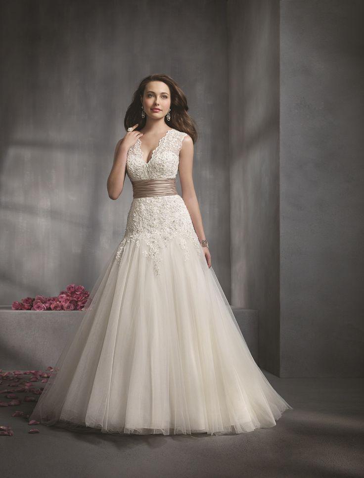 26 best A-line wedding gowns images on Pinterest | Short wedding ...