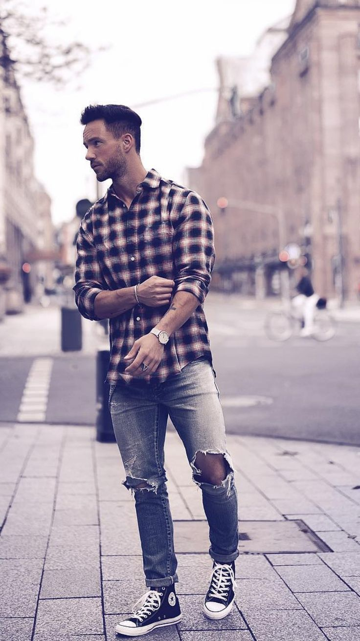 5 Coolest Check Shirt Outfits For Men
