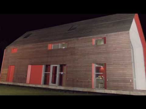 Amazing Sliding Wood House