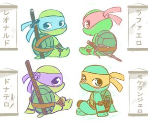 baby ninja turtles tattoos - Google Search