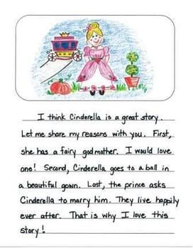 Second Grade Opinion Writing Mentor Texts:  What is the Best Fairy Tale?