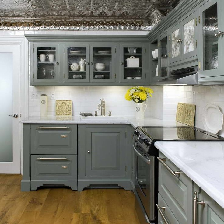 14 Best Images About Grey Kitchen Cabinets On Pinterest