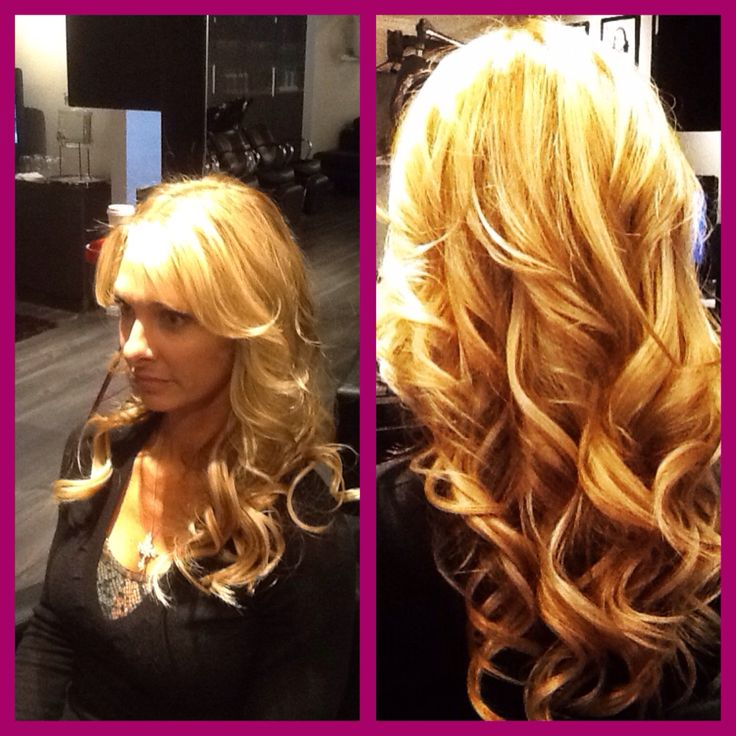 Front view of Lusciouslox hair extensions