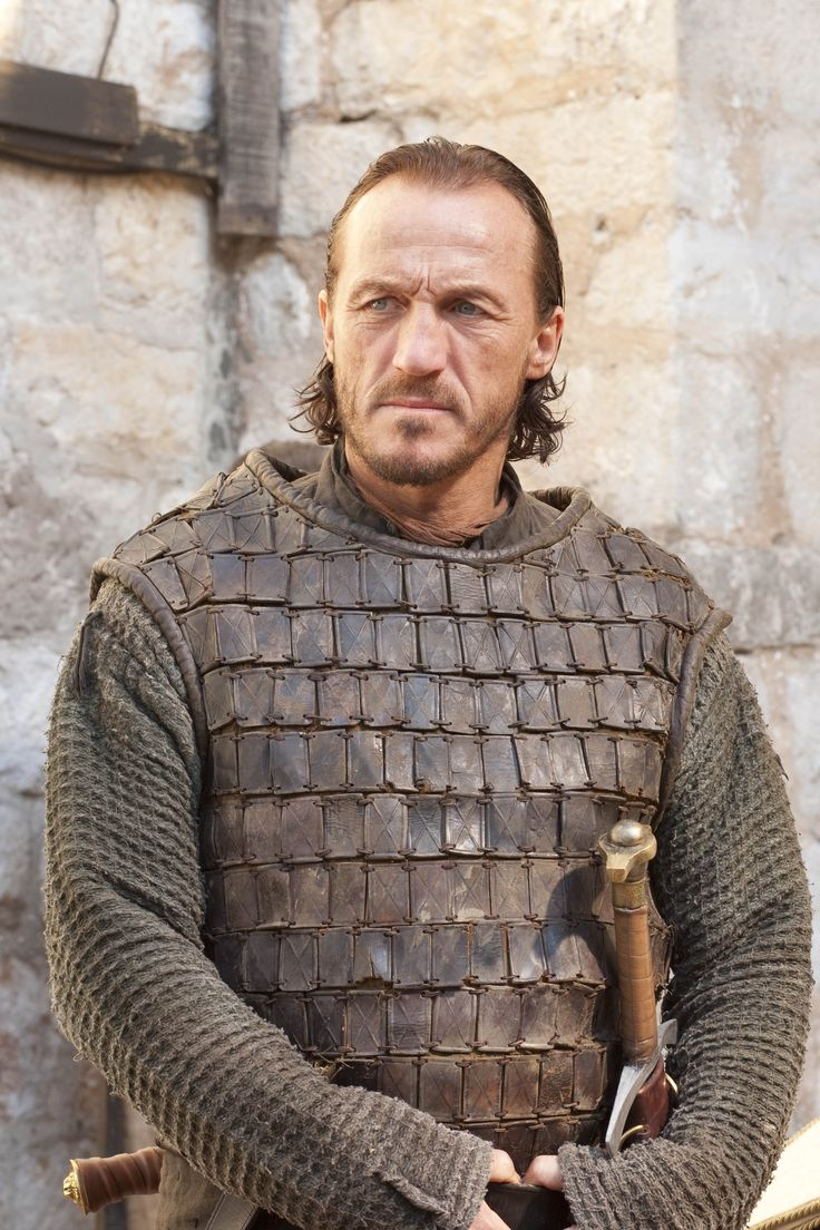 Ser Bronn of the Blackwater. The cynic mercenary became a companion of Tyrion Lannister, for a time commaded the City Watch of King's Landing and was knighted after Stannis's failed expedition. He also became a companion of Jamie Lannister. He is portrayed by Jerome Flynn.