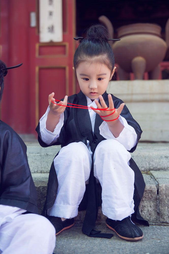 Cute young Taoist priest in Beijing (3) - People's Daily Online