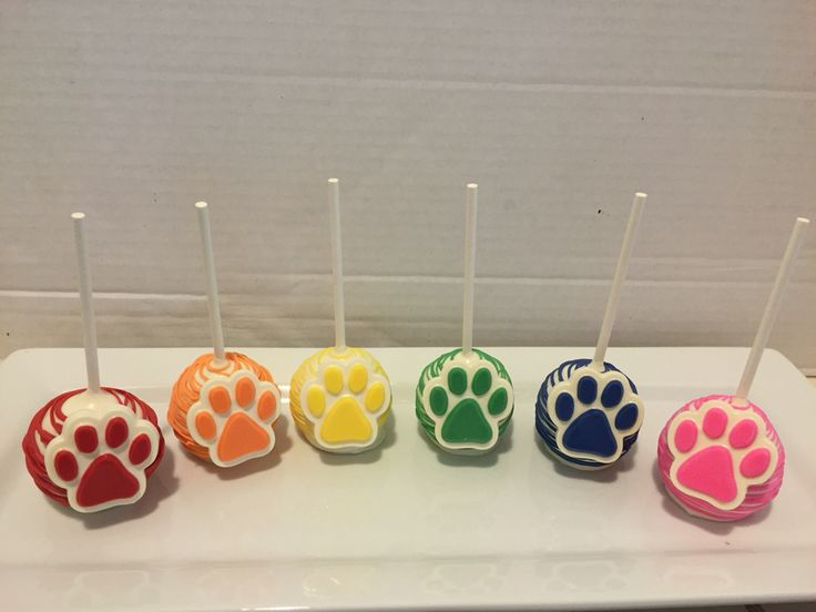 Paw Patrol Cake Pops Sweet Treat Creations Made By Me