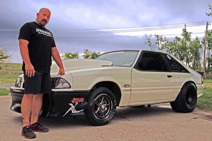 Chuck - 1989 Mustang 1989 Ford Fox Body Mustang – 429 Cubic Inch Small Block Chevy SBC Motor – Braswell 4375 Area 51 Carburetor – Twin Turbo – Small Tire Car