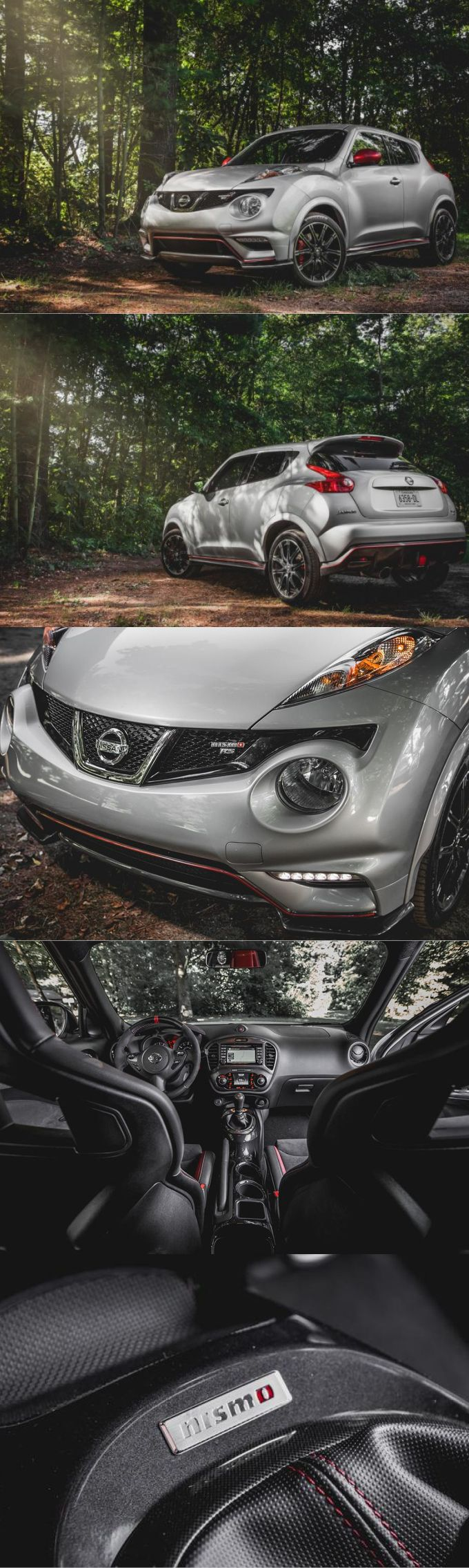 2017 Nissan Juke Nismo RS / Japan / silver red
