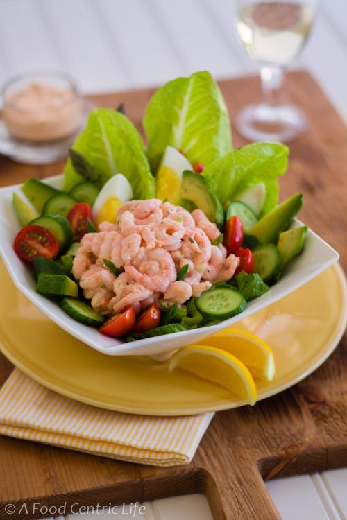 Shrimp Louis Salad - the dressing is to die for!  and made with simple on hand ingredients......great for all seafood dishes not just shrimp!