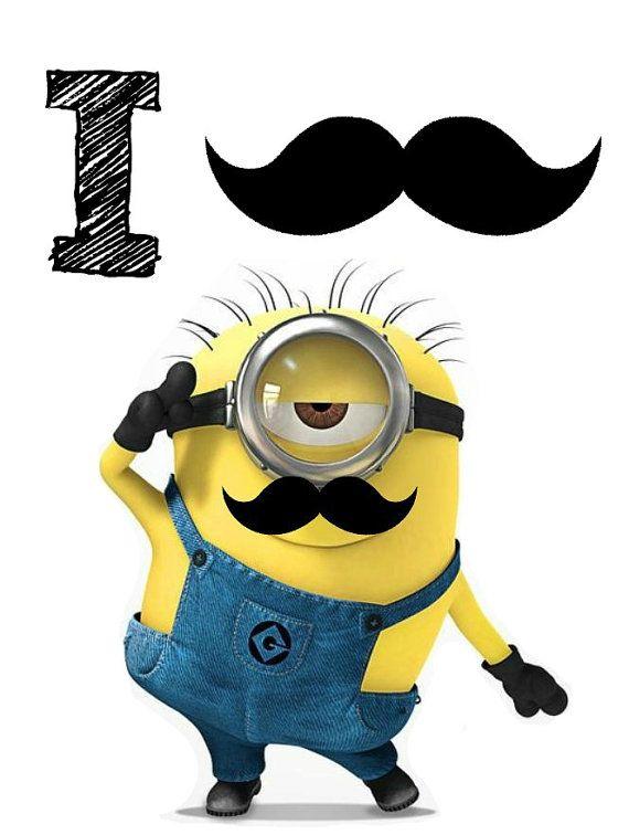 Despicable Me Mustache Minion