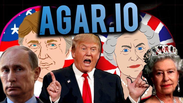 Donald J Trump + PUTIN In Agar io - Banter with Ethan