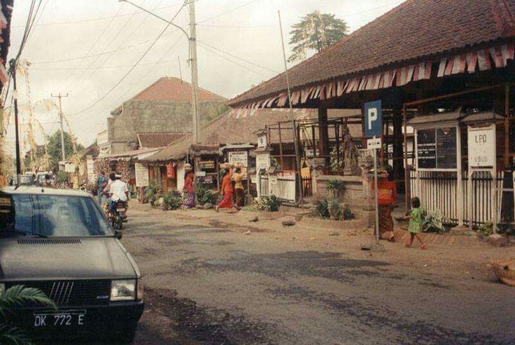 Ubud, Bali in 1986 #Ubud #Bali