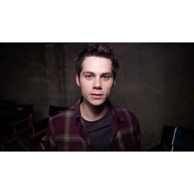 Hilarious video of Dylan on the Teen Wolf After After Show for 6x1 - looking good as always baby 👌🏼😍😘 #dylanobrien