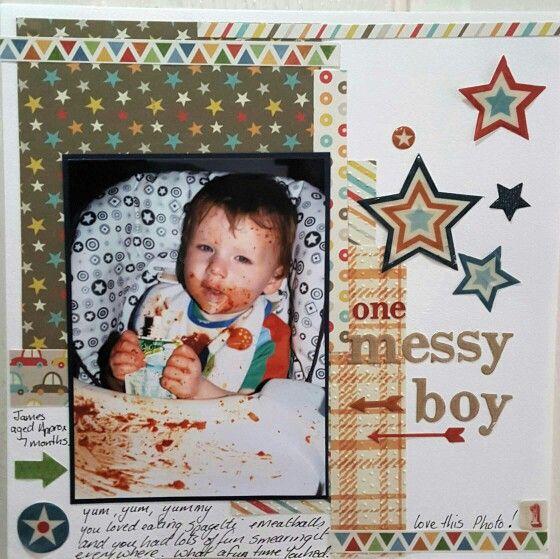 Messy boy