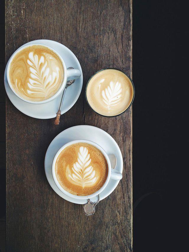 Beautiful latte foam art is our favorite! #MrCoffee #Coffee #LatteArt