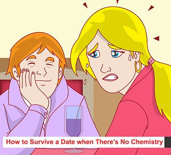 Online dating first date no chemistry