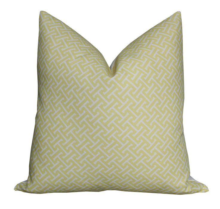 Hanover Linen Pillow Yellow