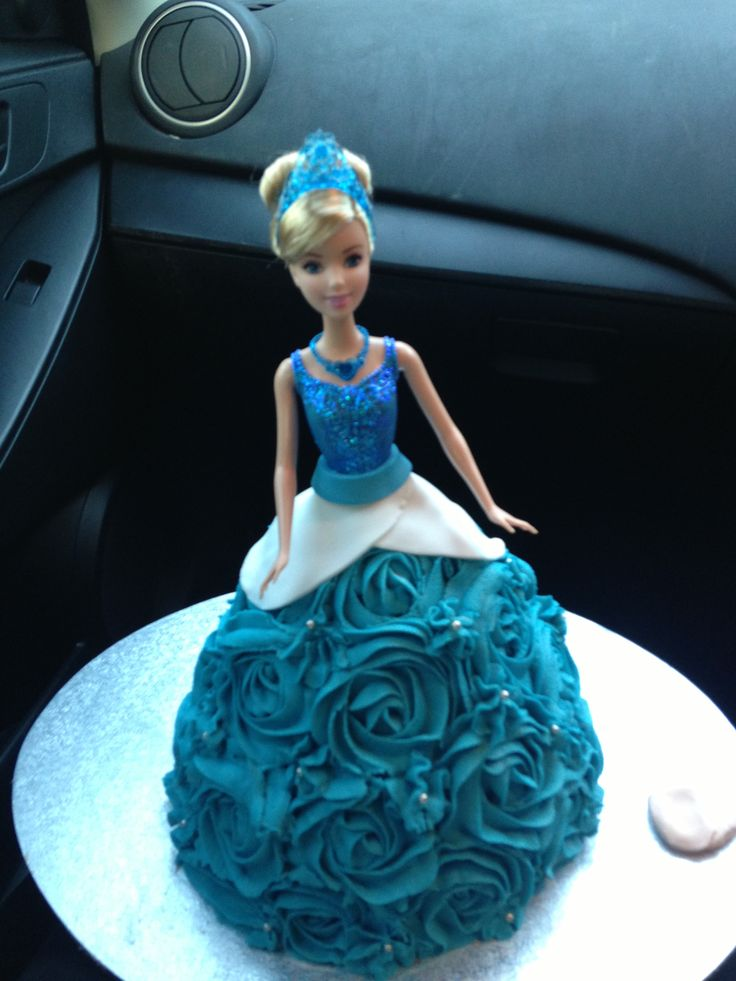 Cinderella Dolly Varden cake