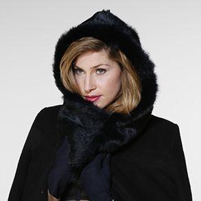 #hooded #scarf #capuche #echarpe #fashion #winter #season 2014/15 @cache.toi