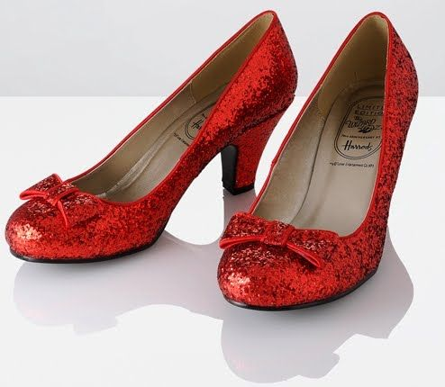 1000  ideas about Ruby Red Slippers on Pinterest  Red slippers