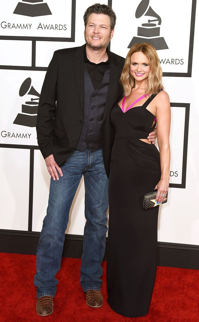 Blake Shelton and Miranda Lambert Divorcing After Four Years of Marriage  Blake Shelton, Miranda Lambert, Grammy Awards, Couples