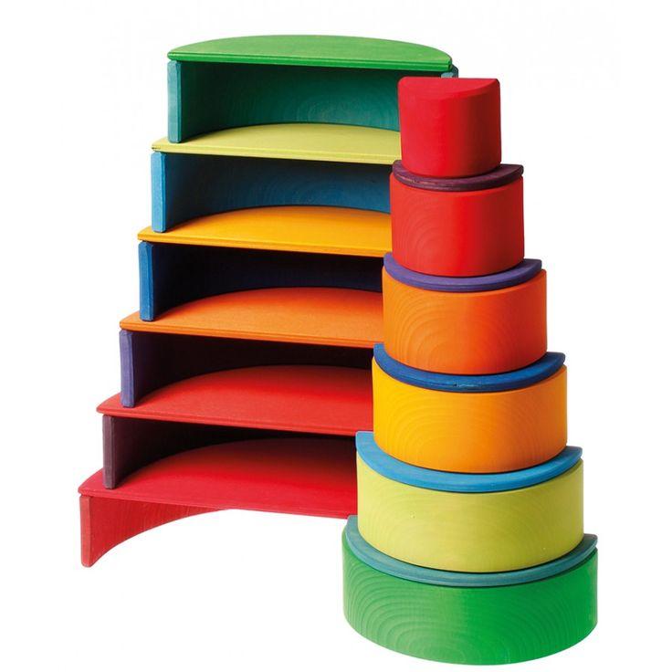 Grimm's Rainbow Semi-Circles & rainbow