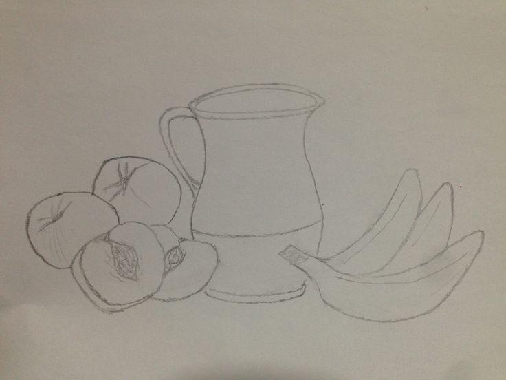 esta imagen se trata de uno de los tres bocetos distintos que tuve que realizar antes del trabajo final.