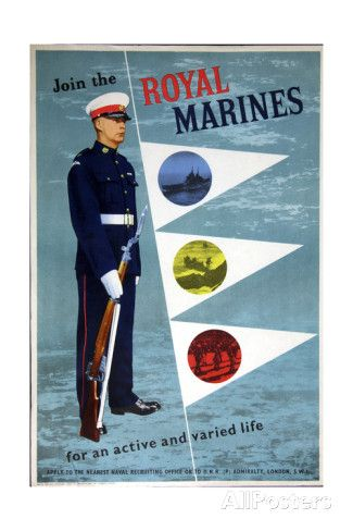 Join the Royal Marines Poster