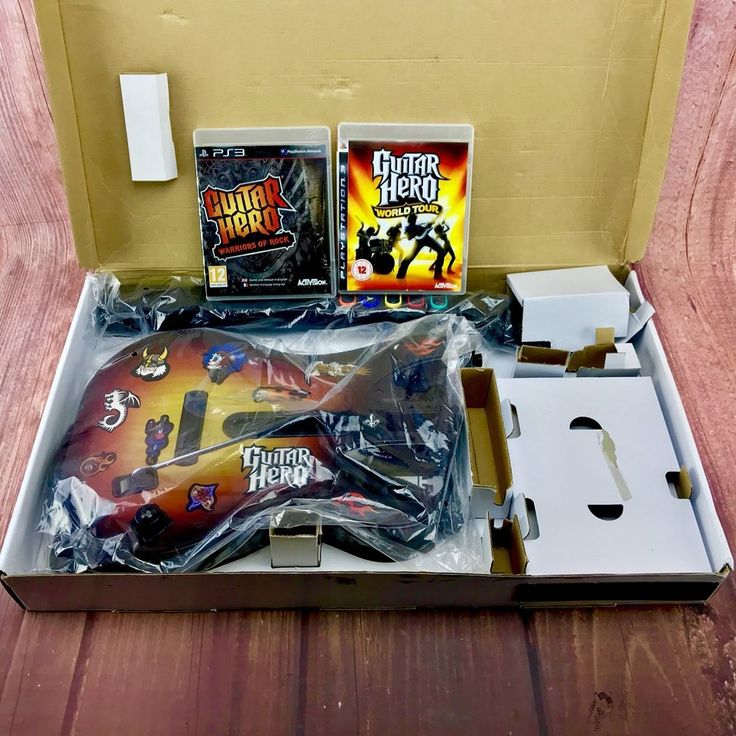 Ps3 Guitar Hero 🎸 Brand New Boxed And Wrapped + 2 Guitar Hero Games Rock , Tour