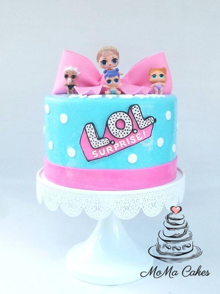 LOL Überraschungspuppen Geburtstagstorte von MoMa Cakes. – LOL Party