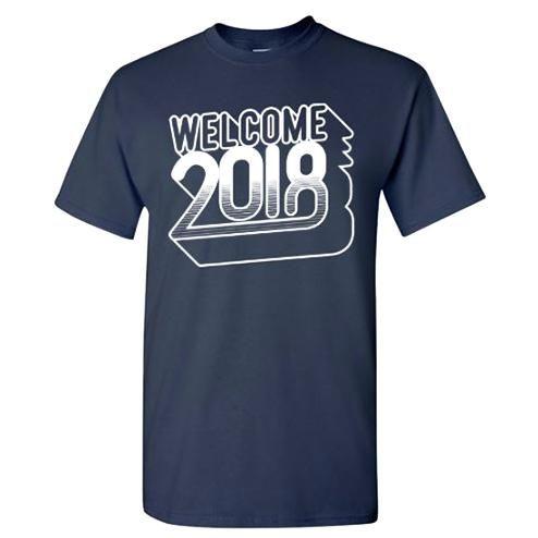 Beli Kaos Tahun Baru 2018 Desain 1 Welcome 2018 Biru Navy Dongker S-M-L-XL-XXL dari OT design ot_design - Semarang hanya di Bukalapak
