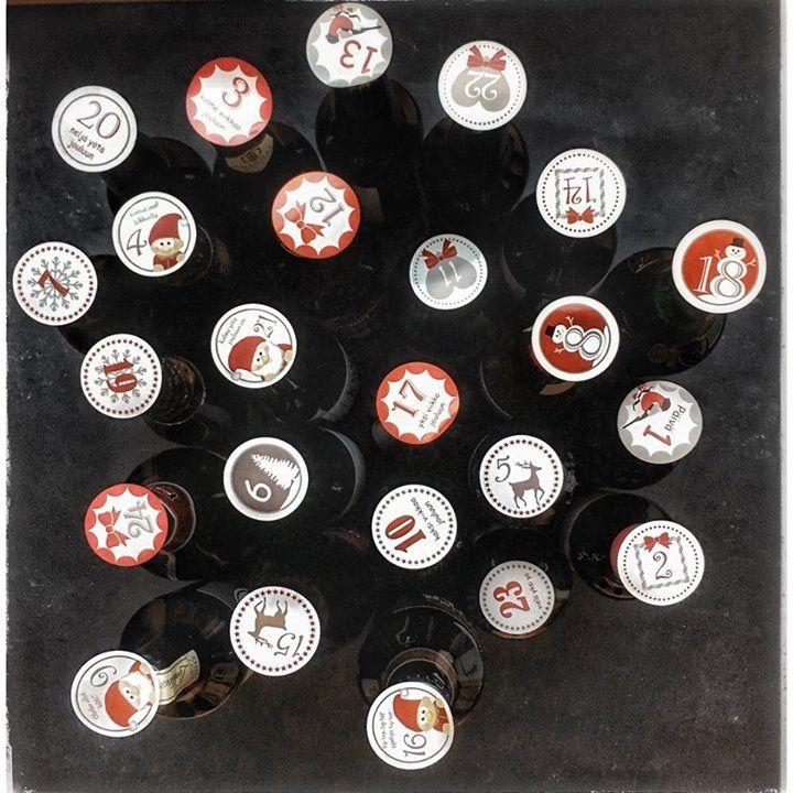 Joulukalenteri, olutpullokalenteri