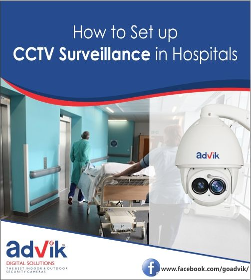 Are you considering setting up #CCTVSurveillance in your medical facility? Here are some pointers for you. https://goo.gl/EoTNNn