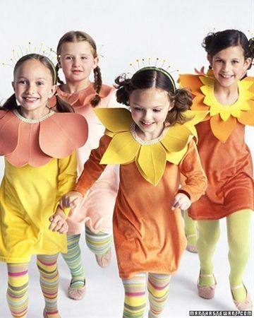 flower costumes