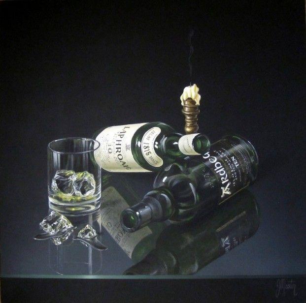 Ian Mastin 'Gae few an' they're a' deid'. Acrylics | Scottish Contemporary Art. Acrylic.