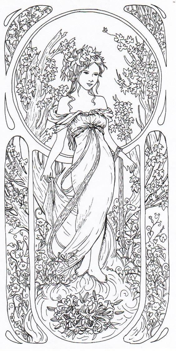 1485 best MÅLARBILDER 7 images on Pinterest   Coloring books ...