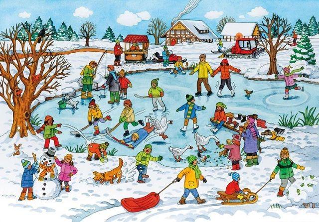 """Copy of """"Lied: schaatsen, Lied: Ik wil sneeuw, Prentenbo..."""""""