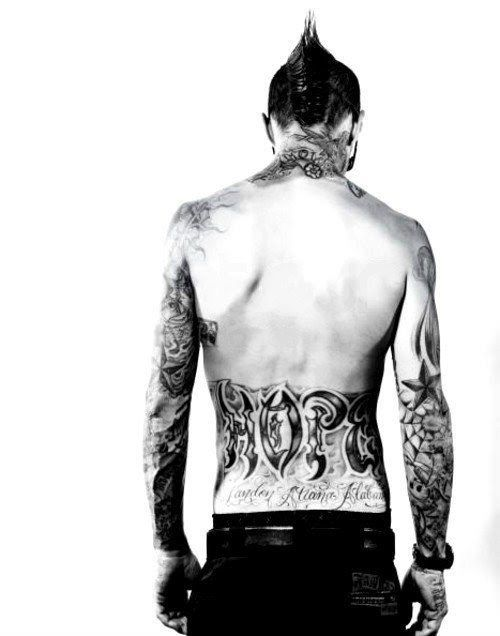 Travis Barker - love guys with tats except Jesse James. He's a tool